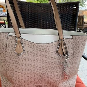 Guess Los Angeles Tote with matching clutch